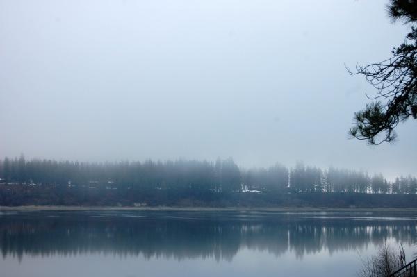 Spooky fog ...